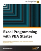Book Excel Programming with VBA Starter free