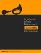 Book LightSwitch Mobile Business Apps Succinctly free