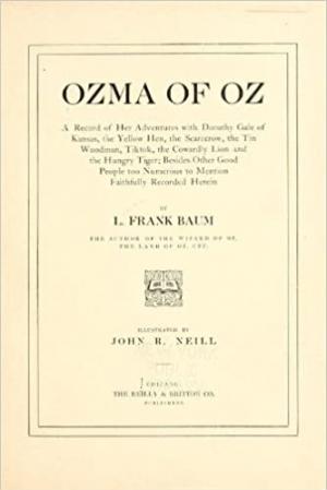 Download Ozma of Oz free book as pdf format