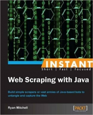 Download Instant Web Scraping with Java free book as pdf format
