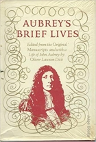 Book Aubrey's Brief Lives free