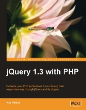 Download jQuery 1.3 with PHP free book as pdf format