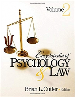 Download Encyclopedia of Psychology and Law free book as pdf format