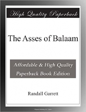 Download The Asses of Balaam free book as epub format