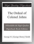 Book The Ordeal of Colonel Johns free