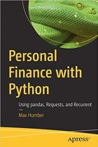 Book Personal Finance with Python: Using pandas, Requests, and Recurrent free