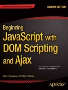 Book Beginning JavaScript with DOM Scripting and Ajax, 2nd Edition free