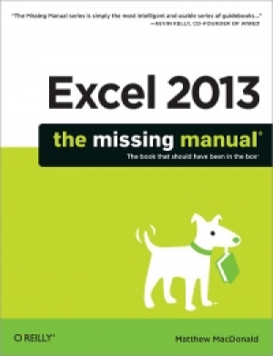 Download Excel 2013: The Missing Manual free book as pdf format