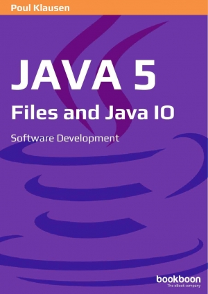 Download Java 5 Files and Java Io free book as pdf format