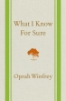 Book What I Know for Sure free