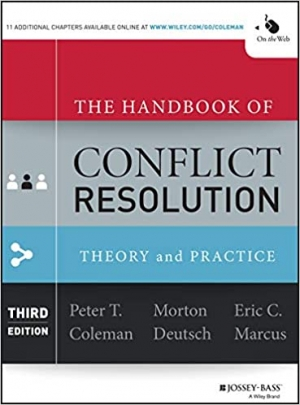 Download The Handbook of Conflict Resolution: Theory and Practice free book as epub format