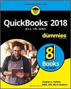 Book QuickBooks 2018 All-in-One For Dummies free