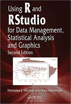 Download Using R and RStudio for Data Management, Statistical Analysis, and Graphics free book as pdf format