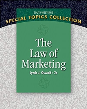 Download The Law of Marketing (Special Topics Collection) free book as pdf format
