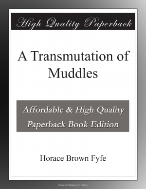 Download A Transmutation of Muddles free book as epub format