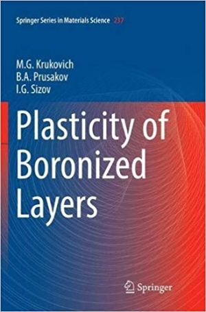 Download Plasticity of Boronized Layers (Springer Series in Materials Science) free book as pdf format