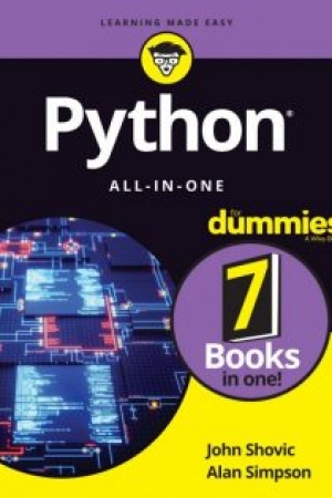 Download Python All-In-One for Dummies – John Shovic free book as pdf format