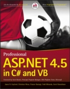 Book Professional ASP.NET 4.5 in C# and VB free
