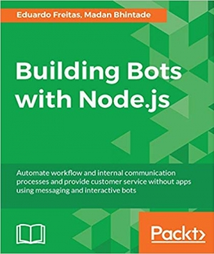 Download Building Bots with Node.js free book as pdf format