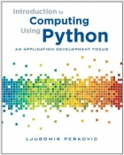 Book Introduction To Computing Using Python free