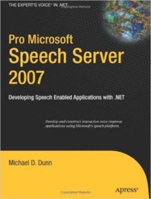 Download Pro Microsoft Speech Server 2007 free book as pdf format