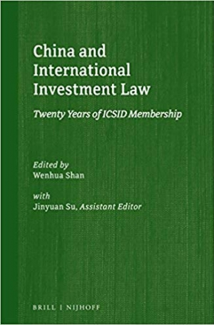 Download China and International Investment Law: Twenty Years of ICSID Membership (Silk Road Studies in International Economic Law) free book as pdf format