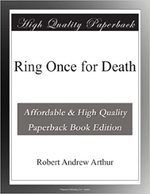 Download Ring Once for Death free book as epub format
