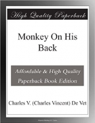 Book Monkey On His Back free