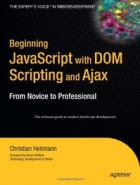 Book Beginning JavaScript with DOM Scripting and Ajax: From Novice to Professional free