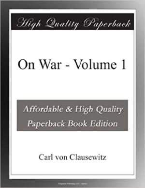 Download On War - Volume 1 free book as pdf format