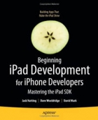 Book Beginning iPad Development for iPhone Developers free