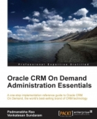 Book Oracle CRM On Demand Administration Essentials free