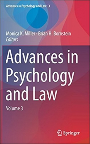 Download Advances in Psychology and Law Volume 3. free book as pdf format