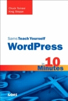 Book Sams Teach Yourself WordPress in 10 Minutes free