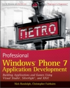 Book Professional Windows Phone 7 Application Development free