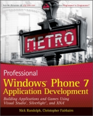 Download Professional Windows Phone 7 Application Development free book as pdf format