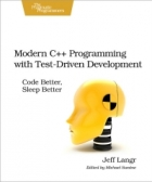 Book Modern C++ Programming with Test-Driven Development free
