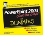 Book PowerPoint 2003 Just the Steps For Dummies free
