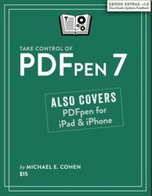 Download Take Control of PDFpen 7 free book as pdf format