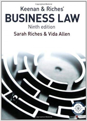 Download Keenan and Riches' Business Law free book as pdf format
