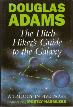 Download The Hitchhiker's Guide to the Galaxy Omnibus: A Trilogy in Five Parts free book as epub format