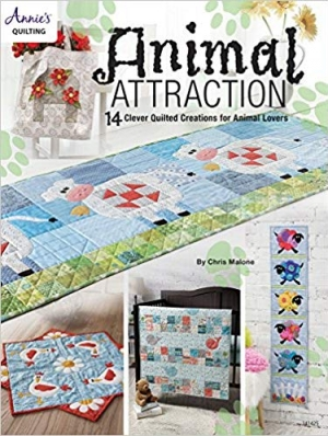 Download Animal Attraction: 14 Clever Quilted Creations for Animal Lovers free book as epub format