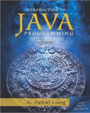 Download Introduction To Java Programming, Comprehensive Version, 10th Edition free book as pdf format