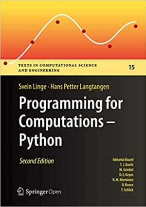 Download Programming for Computations - Python: A Gentle Introduction to Numerical Simulations with Python 3.6 free book as pdf format