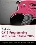 Book Beginning C# 6.0 Programming with Visual Studio 2015 free