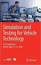 Book Simulation and Testing for Vehicle Technology: 7th Conference, Berlin, May 12-13, 2016 free