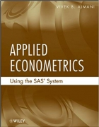 Book Applied Econometrics Using the SAS System free