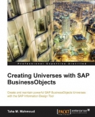 Book Creating Universes with SAP BusinessObjects free