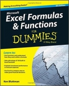 Book Excel Formulas and Functions For Dummies free
