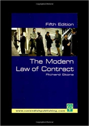 Download The Modern Law of Contract 5/E free book as pdf format